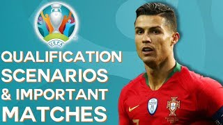 The Final Euro 2020 Qualifiers: What Each Team Needs to Qualify & Who Can Make It!
