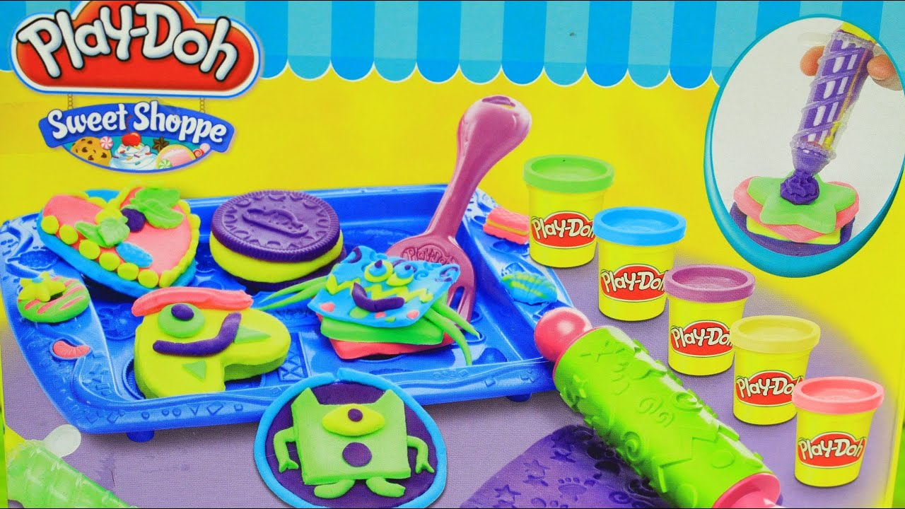 Play Doh Colorful Candy Box Sweet Shoppe- How to make Lollipops Cookies Cupcakes by Toy Tycoon HD  sc 1 st  YouTube & Play Doh Colorful Candy Box Sweet Shoppe- How to make Lollipops ... Aboutintivar.Com