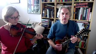 The Famous Ballymote (reel) on fiddle and mandolin