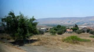 Израиль Галилея Дорога к озеру Киннерет(2011 07 26 26., 2011-08-10T19:49:04.000Z)