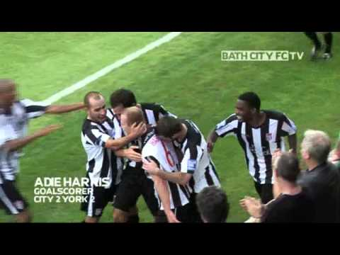 Adie Harris goal - Bath City 2-2 York City