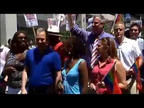 New York City gay pride parade, one of largest in movement's history from YouTube · Duration:  1 minutes 24 seconds