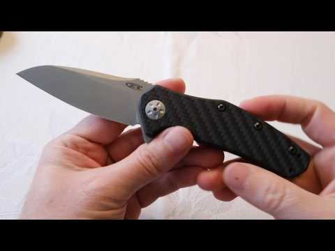 4K Zero Tolerance ZT 0770 CF Knife Review