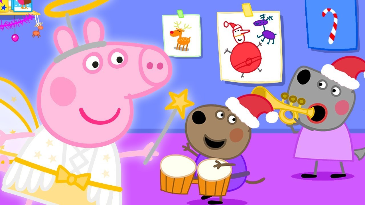 Peppa Pig in Hindi 🎄 Peppa Pig ka Dant Gir Gaya 🎄 हिंदी Kahaniya - Hindi Cartoons for Kids