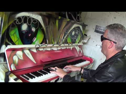 EXTREME Rock-a-Boogie Solo on the Graffiti Piano