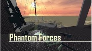 Phantom Forces-ROBLOX THE BITCH THAT TRIES TO KICK ME FOR MODDING Ep-13
