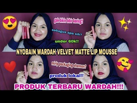 nyobain-produk-terbaru-wardah!!-|-review-wardah-velvet-matte-lip-mousse-di-bibir-hitam