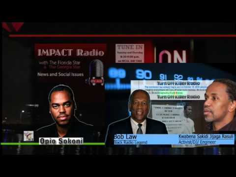 Impact: Opio Speaks with Bob Law and Activist Kwabena about Turn Off Killer Radio Campaign