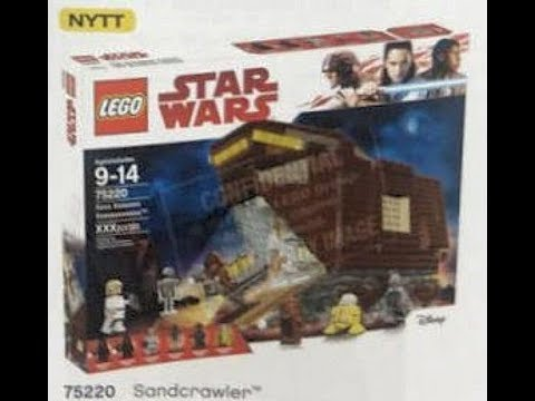 SUMMER 2018 LEGO STAR WARS SETS [LATEST PICTURES & NEWS] - YouTube