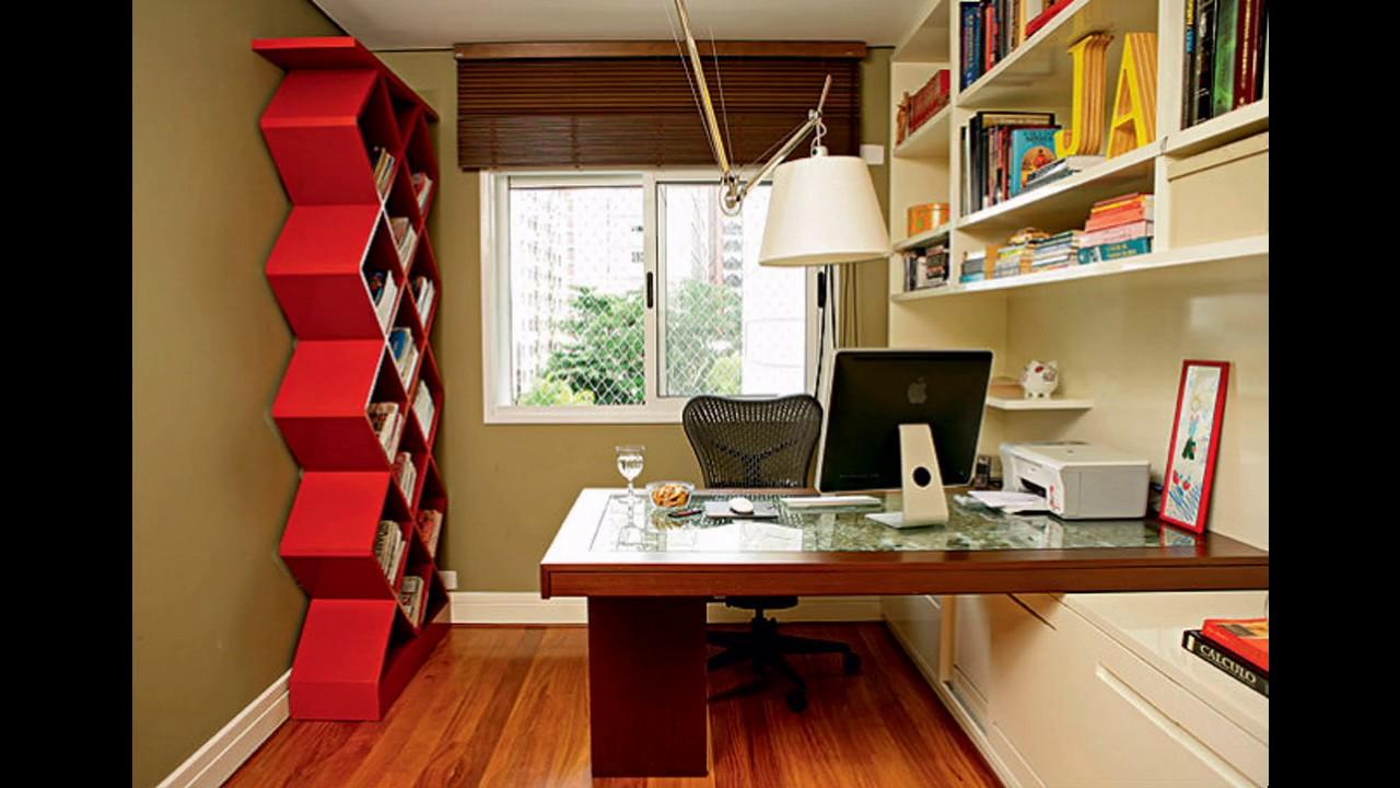 Ideas de dise o de oficinas para espacios peque os youtube for Zapateras para espacios pequenos