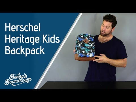 Herschel Heritage Kids Backpack Walkthrough - Benny's Boardroom