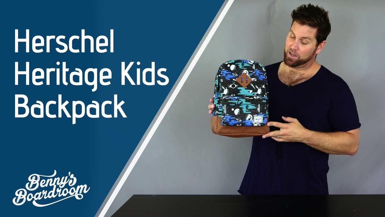 eb68f4758d Herschel Heritage Kids Backpack Walkthrough - Benny s Boardroom ...