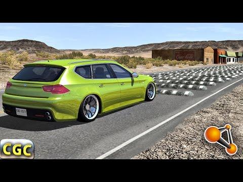 High Speed Bumps crash testing #1