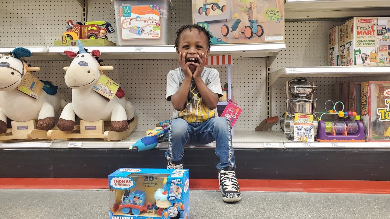 Miracle baby Josiah Goes SHOPPING In Target on TOY HUNT For BIRTHDAY Wish List