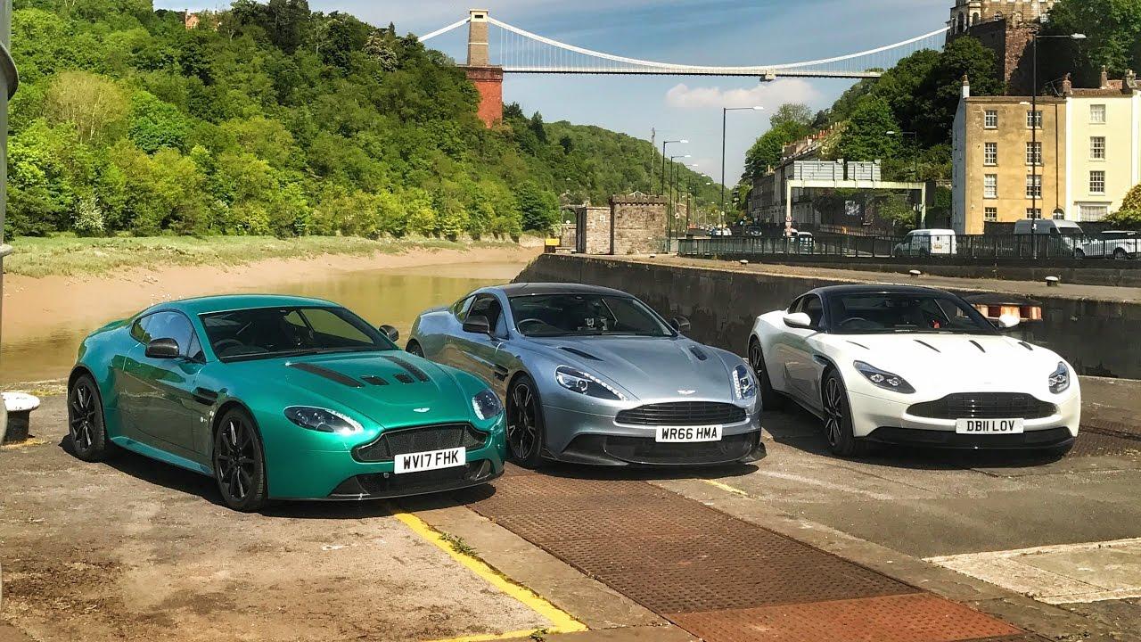 Db11 Vs Vanquish S Vs V12 Vantage S Aston Martin Shootout Youtube