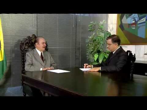 Kennedy Alencar entrevista José Sarney - Bloco 1
