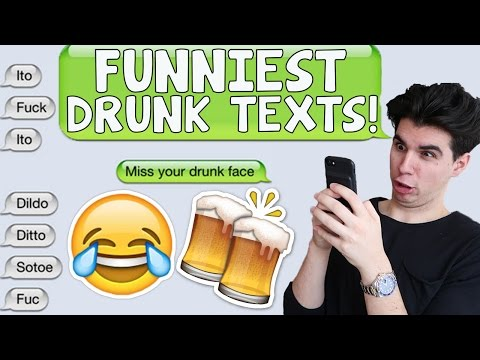 FUNNIEST DRUNK TEXT MESSAGES!! (EPIC FAILS)