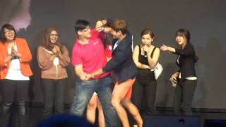 [FANCAM] 140613 Tag Game @ Running Man Sparta Kim Jong Kook First Malaysia Showcase 2013