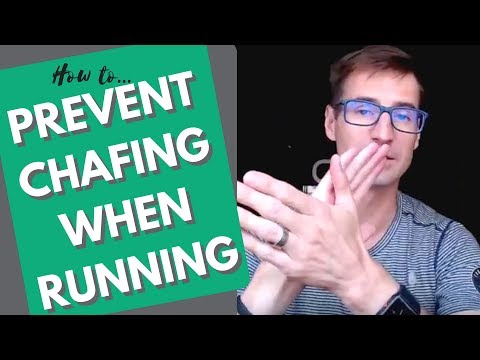 How to prevent chafing while running