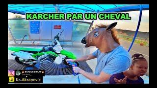 Un Cheval Qui lave un 450 KXF // Vlog Fôret