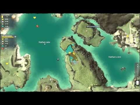 Guild Wars 2 - Kessex Hills Point of Interest stupid Island area guide!