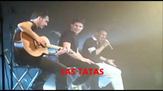 """Andy & Lucas cantando """"Abuelo"""" en Sevilla (25-02-2011)"""
