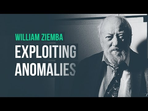Exploiting anomalies in financial markets · Dr. William Ziemba