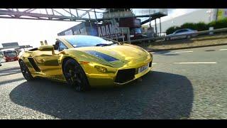 20 YEAR OLD London Trader Elijah Wraps His Lamborghini GOLD | Link Up TV