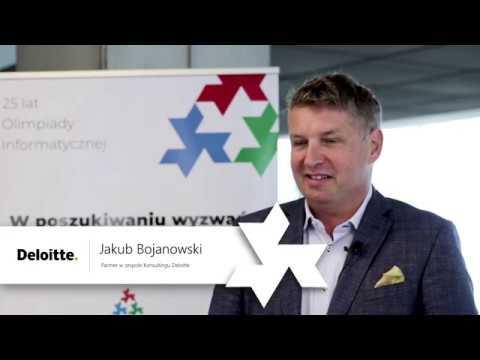25 lat Olimpiady Informatycznej - wywiad z Jakubem Bojanowskim z Deloitte