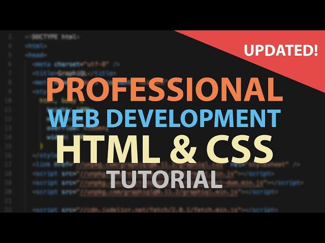 HTML CSS Tutorial for Beginners - Web Development Tutorials For Beginners