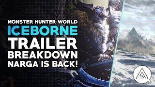 Monster Hunter World Iceborne Trailer Breakdown - New Gear, Weapons, Map & More!