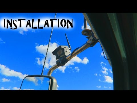 Falconeye Mobile Wireless 3 Cam Installation - Trucker Josh