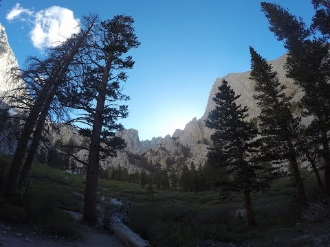 Hiking Mt. Whitney June 2016