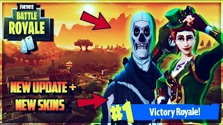 FORTNITE BATTLE ROYALE LIVE| NEW SKINS + REMOTE C4 (FORTNITE UPDATE)