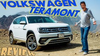 Volkswagen Teramont ( Atlas ) Middle East first drive review