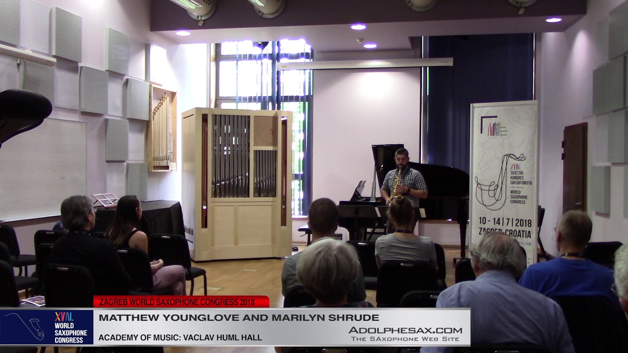 Caprice Nº24 by Niccolo Paganini   Mathew YOunglove & Marilyn Shrude   XVIII World Sax Congress 2018