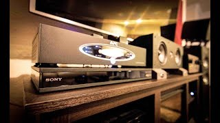 The BEST 4K Blu Ray Player UNDER $300!! 2018 - Sony UBP-X800 Unboxing & Review