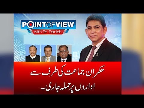 Model Town case day to day hearing | Point of View | 17 April 2018 | 24 News HD