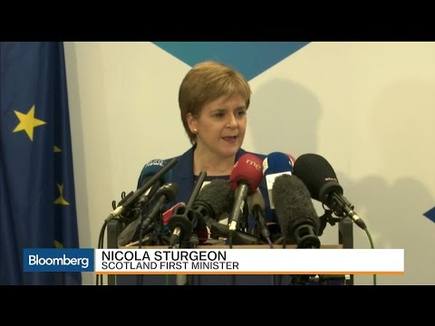 Nicola Sturgeon: Scotland Voted to Be Part of EU