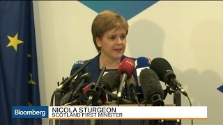 Nicola Sturgeon: Scotland Voted to Be Part of EU