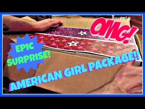 EPIC SURPRISE AMERICAN DOLL PACKAGE OPENING - HOLY GRAIL OF AMERICAN GIRL OF THE YEAR DOLLS