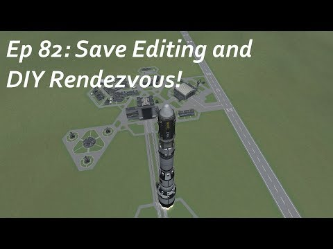 Save Editing and DIY Rendezvous! - KSP/MKS - Multiplanetary Species Episode 82