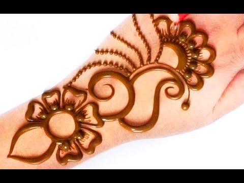 सीखे! सूंदर मेहँदी डिज़ाइन कैसे लगाएं ? Easy Gol tikki Mehndi Design on Hands
