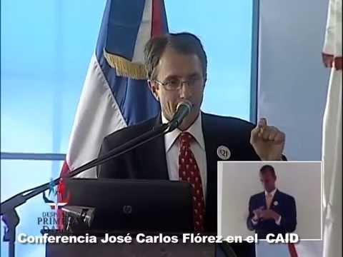 Conferencia del doctor José Carlos Flórez en el #CAID
