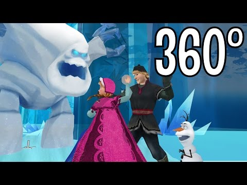 "Frozen (360° Video): ""It is Not Nice to Throw People Scene"" Funny"