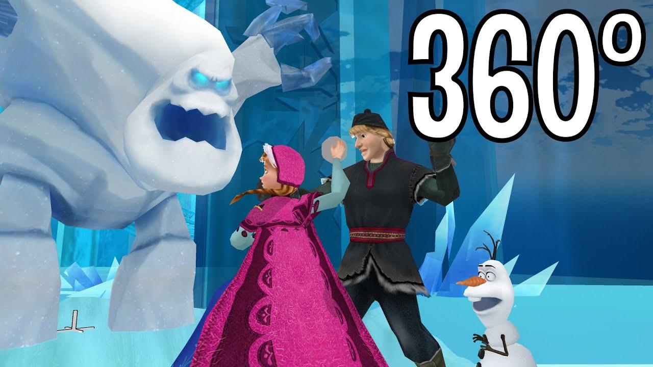 Frozen (360° Video): Its Not Good to Throw Individuals Scene Humorous