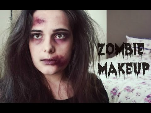Easy Zombie Halloween Makeup Tutorial