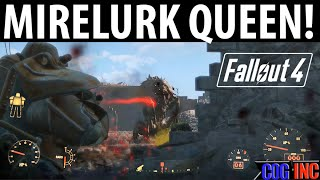 Fallout 4 How to Defeat Mirelurk Queen as a Low Level (Taking Independence Quest)