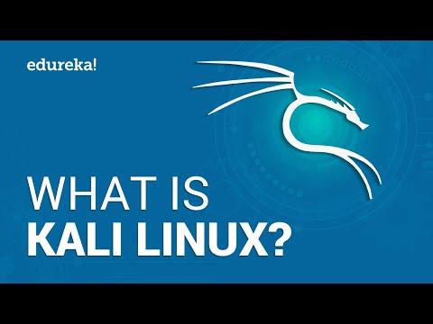 What is Kali Linux?   Kali Linux Tutorial   Cybersecurity Training   Edureka