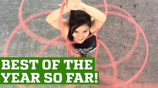 Best Parkour and Free Running 2016  (GIRL VERSION) - People Are Awesome
